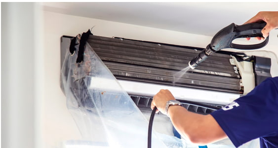 Cleaning Service - heating and cooling - Wall Mounted units
