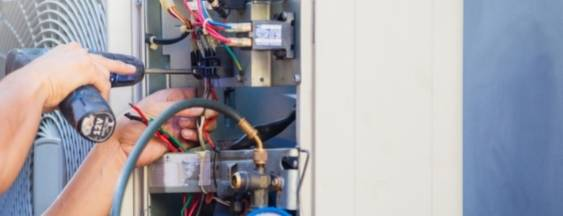Service - heating and cooling - repairs